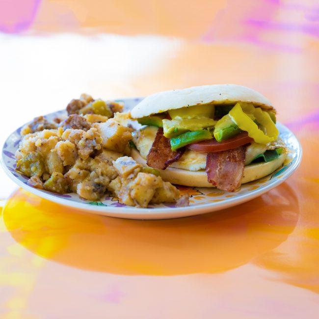 Sisters Gourmet Deli Breakfast Sandwich